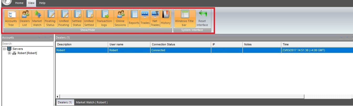 VertexFX Unified Backoffice 8